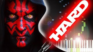 STAR WARS - DUEL OF THE FATES - Piano Tutorial