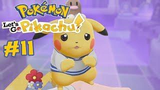 Jens Gennemføre: Pokémon Let's Go Pikachu - Episode 11