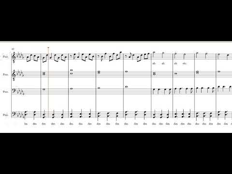 Someone to Stay- Vancouver Sleep Clinic (TTBB Acapella Sheet Music)