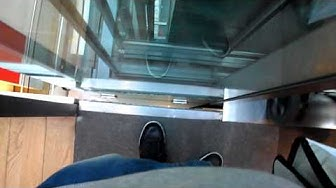 Lift EMCH Store (COOP CITY) Plainpalais, Geneva.