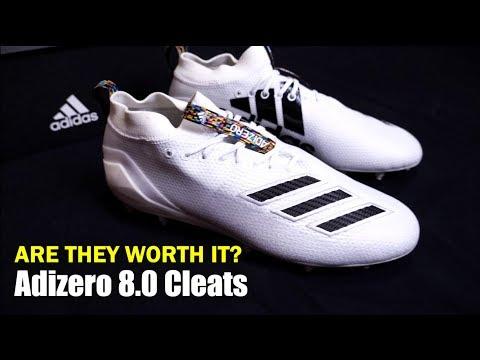 Are The Adizero 8.0 Cleats Worth It ⁉️   [ 4K ]