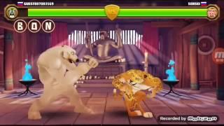 Играю в игру бой животных