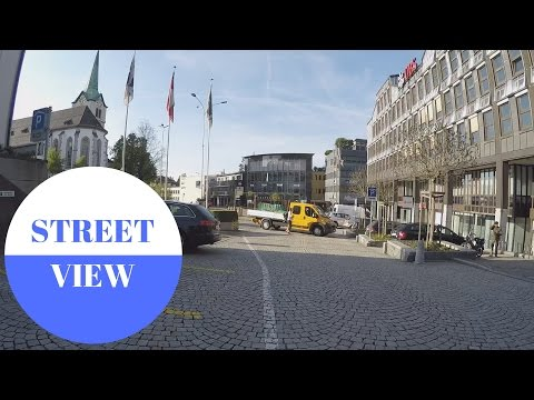 STREET VIEW: Herisau in Appenzell in SWITZERLAND