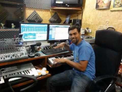 My First Studio Recording @ HMC Studios Bangalore - Tarang Bapat
