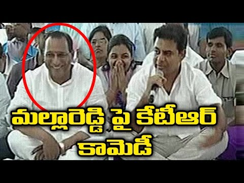 Minister KTR Interacts With People In Monda Market | TV5 News