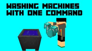 Washing Machines with one command! Repair Armor! [1.10]