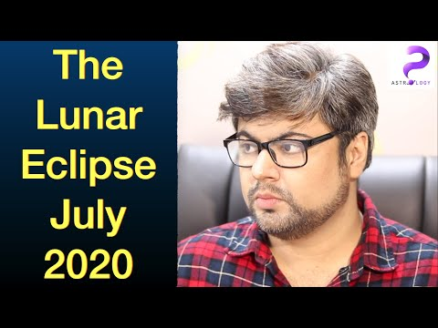 Lunar Eclipse - July 2020 Guru Purnima Full Moon | Time To Cut The Unnecessary | Analysis By Punneit