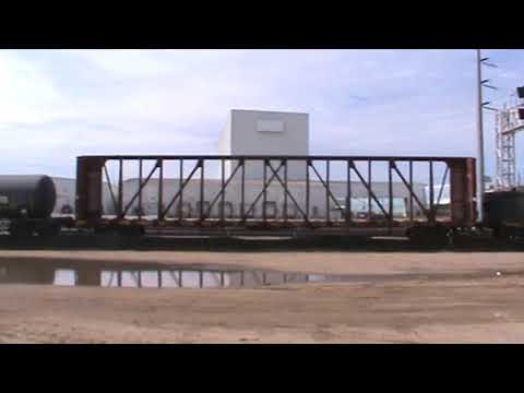 BNSF General Freight Arrival backing up Tulsa, OK 9/28/17 Vid 10 of 14