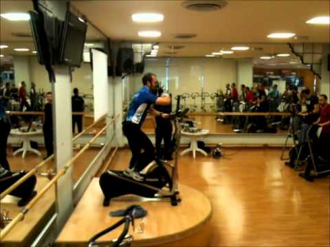Indoorwalking in Kuwait, trainers certification at Platinum Health Club.wmv