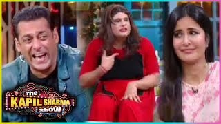 The Kapil Sharma Show : Krushna aka Sapna Funny DABANGG Massage With Salman Khan & Katrina Kaif