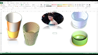 How to Create 3D Design in Excel Worksheet, How to make 3D Shapes in Excel worksheet(Please: - Like, Share, Subscribe and Comment to support me Hey Guys, in this video I explained how to create 3D design in excel worksheet, how to make 3D ..., 2017-02-04T08:47:04.000Z)
