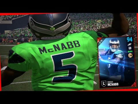 IS 93 DONOVAN MCNABB WORTH THE COINS?? - MADDEN 17 ULTIMATE TEAM