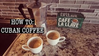 Hey, Guys (WATCH IN HD) Here are two different ways you can make cuban coffee at home! i hope you enjoy! What you'll need: -Classic Espresso Maker (mine ...