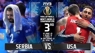 Serbia vs. USA | Bronze Medal Match | World Championship 2018