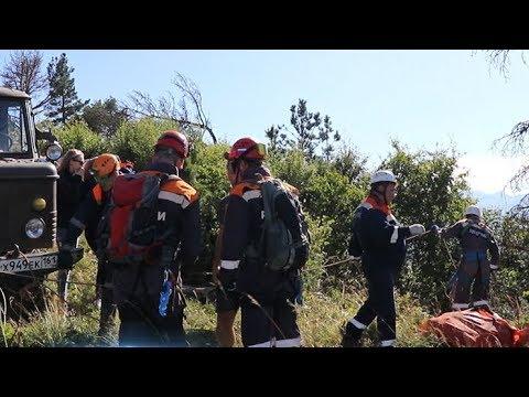 На Кубани турист упал со скалы