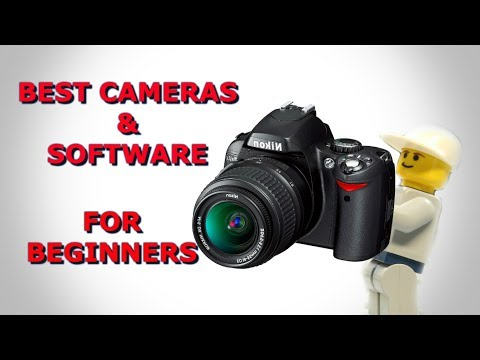 Best Cameras & Software for Stopmotion Beginners