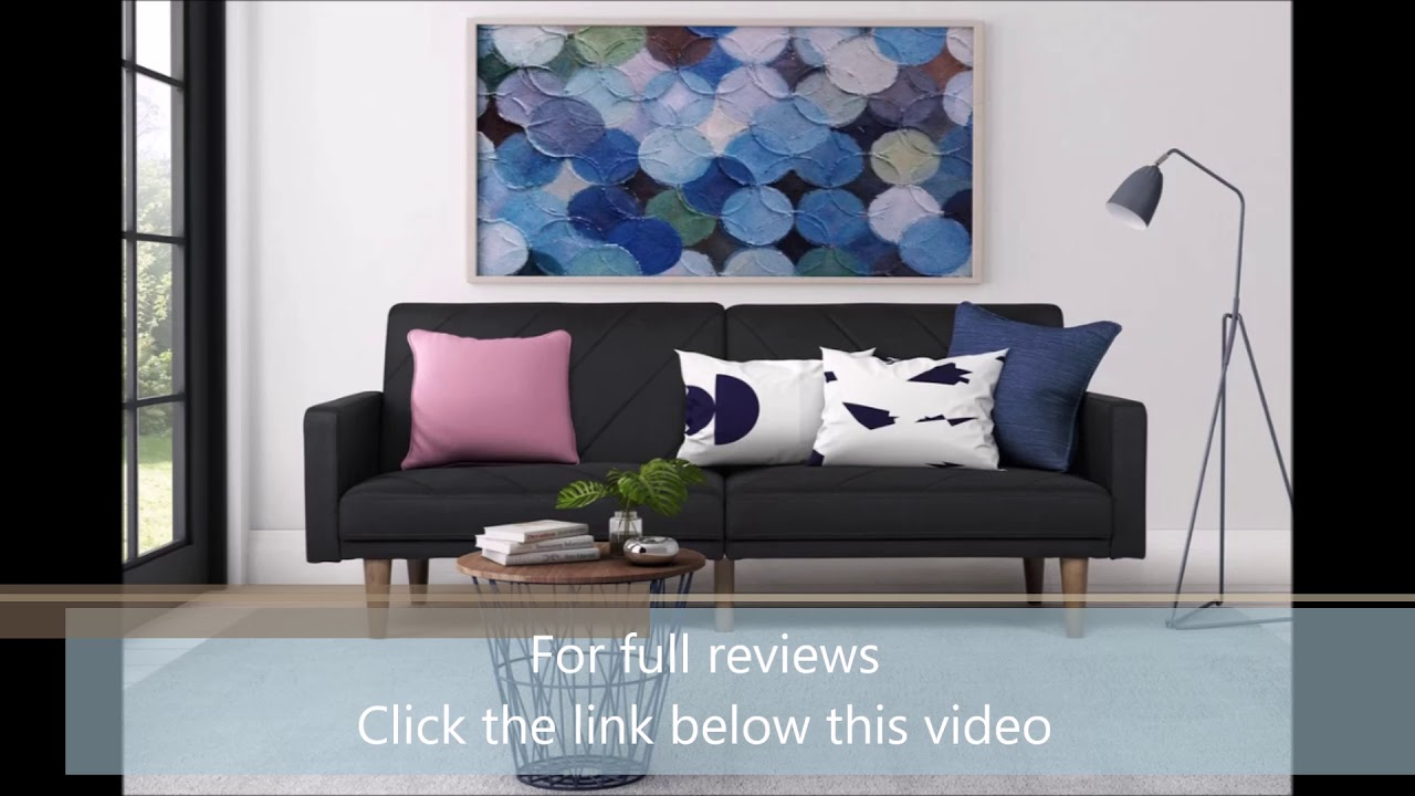 Heritage Convertible Sofa by Langley Street Reviews