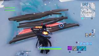 Glitch Fortnite :Ps getting in the middle of Polar Peak