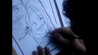 Walt Disney. Caricature of Me and Jj Thumbnail