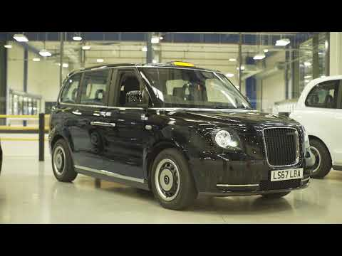 London's Electric Black Cab in details