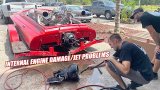homepage tile video photo for Jackstand's $2,500 BIG BLOCK Jet Boat Makes a Miraculous Recovery After Finding BAD Engine Damage!!