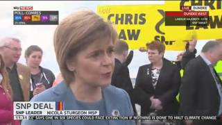 "SNP Leader Nicola Sturgeon: Labour Has ""Lost The Plot"""