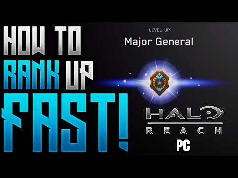How To Rank Up FAST In Halo Reach PC! | Level Up FAST! | Unlock All Tiers MCC (Tips & Tricks Guide)