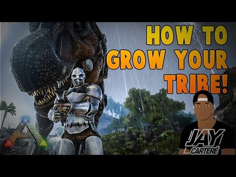 Ark Survival Evolved PS4 Tips - How To Grow Your Tribe - How To Be A Better Tribe Leader