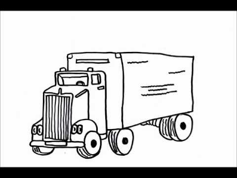 vervoer en transport kleurplaten
