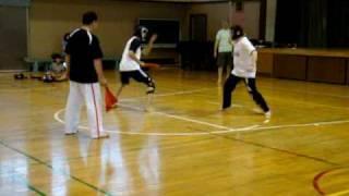 スポーツチャンバラ(世界チャンピオン同士の闘い)