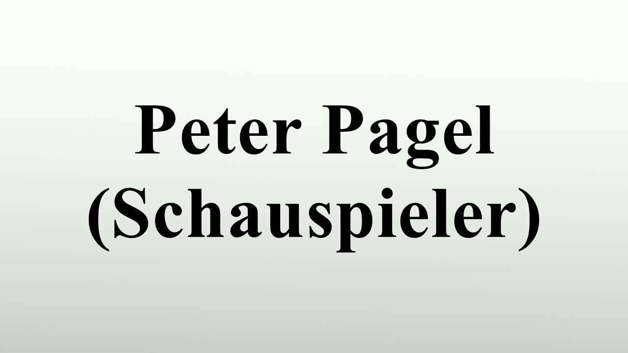 Peter Pagel