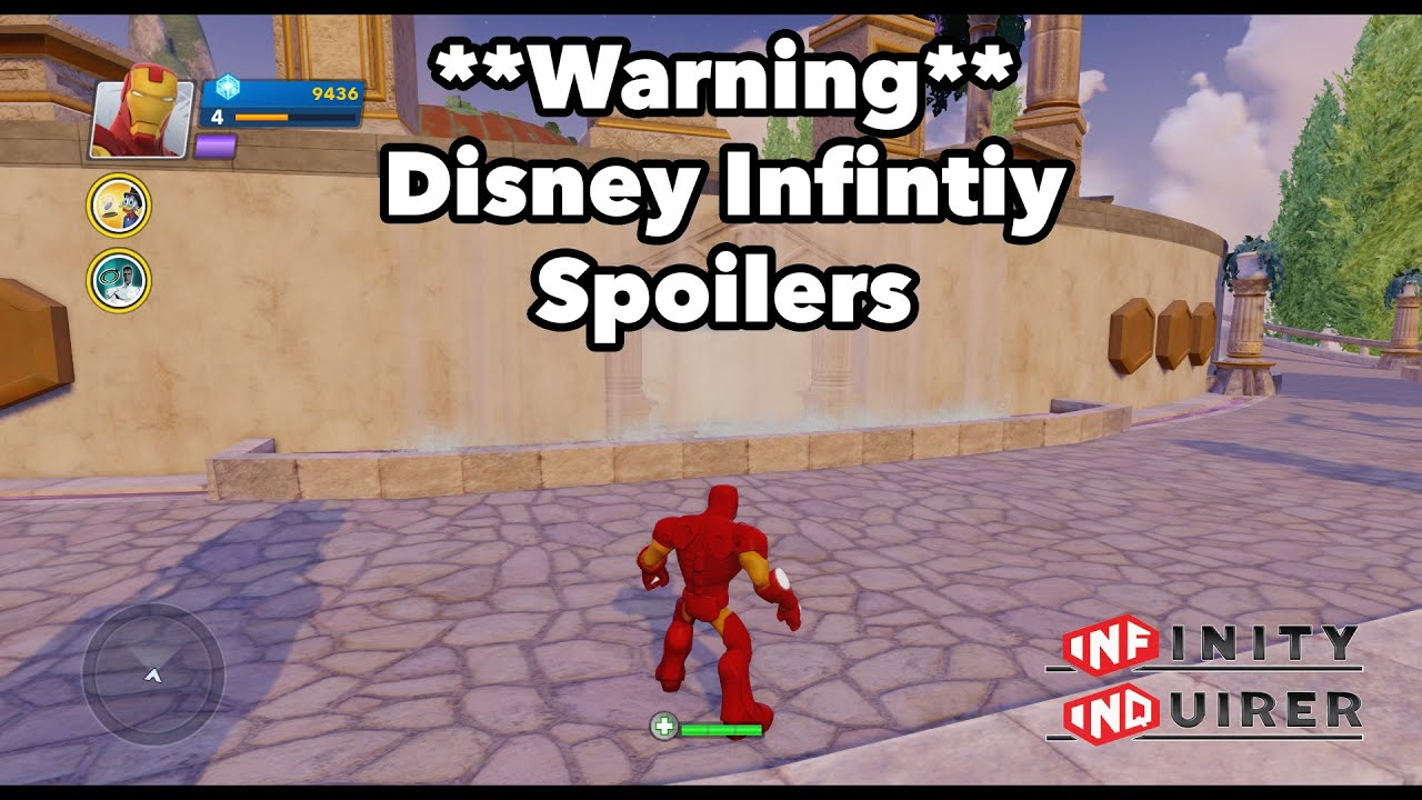 Disney Infinity Hall of Heroes Secret Discovered (WARNING ...