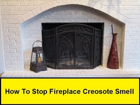 How To Stop Fireplace Creosote Smell Howtolou Com Youtube