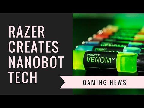 Razer New Nanotech Energy Drink & Brand New Keyboard | Gaming News and More!