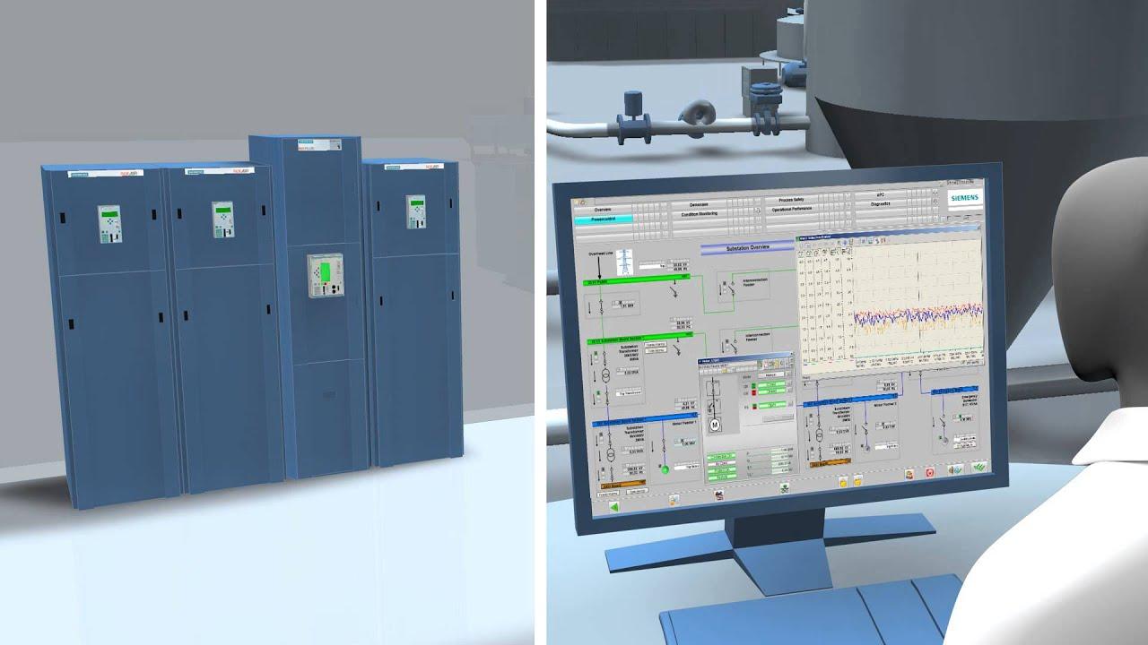 SIMATIC PCS 7 PowerControl - Integration von MV-Schaltanlagen in SIMATIC  PCS 7 gemäss IEC 61850