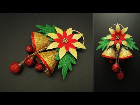 DIY-Christmas Bell From Waste Plastic Bottle | Christmas Ornaments | Christmas Decor