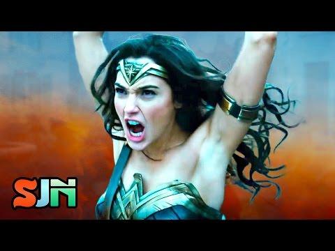 Wonder Woman Trailer Teases New Origin