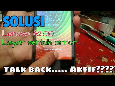 Cara perbaiki layar sentuh android error (nonaktifkan talkback)