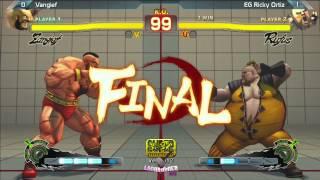 SSF4: Vangief vs EG Ricky Ortiz - Lanhammer 2013