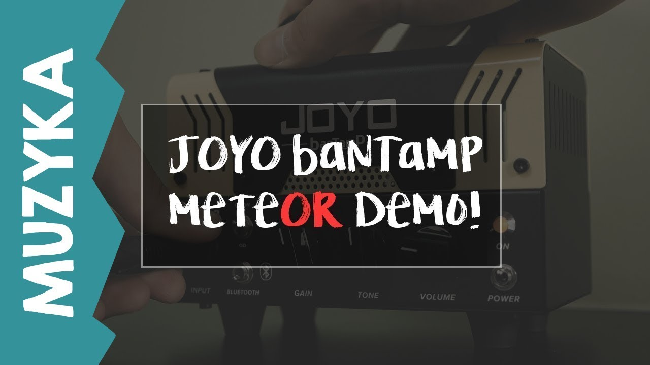 JOYO banTamP meteOR – demo playtrough