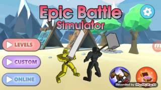 Ligue sur battle epic simulator j1 2eme partie