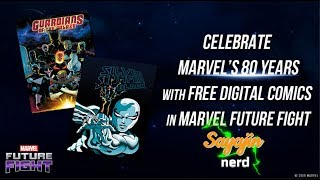 [🔴Live] Marvel Future Fight | HQ grátis !!  Comemorando os 80 anos da MARVEL !