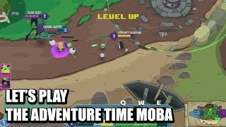 Let's Play Adventure Time: Battle Party MOBA (Beta)