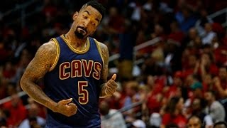 J.R. Smith Sets New Cavs Record with 8 Triples!!