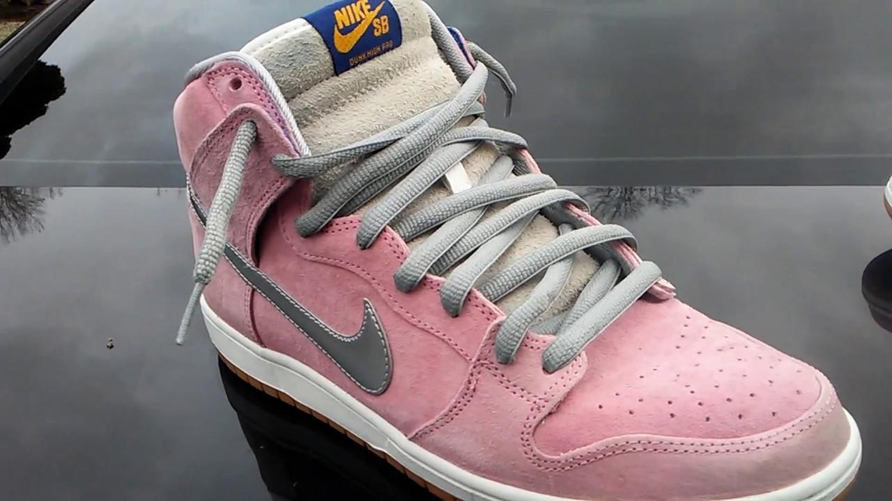 2b32f78dda51 Nike sb dunk when pigs fly review - YouTube