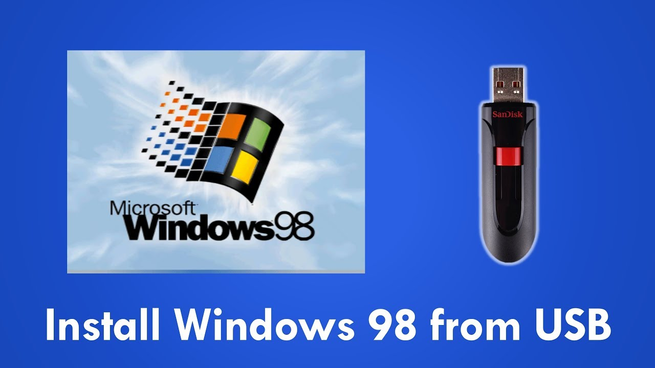 117 - Install Windows 98SE/ME from an ISO file on an Easy2Boot USB