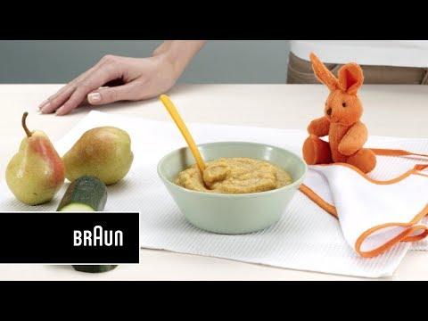 recette-pour-bébé-i-purée-poulet-et-poire-avec-braun-mq523
