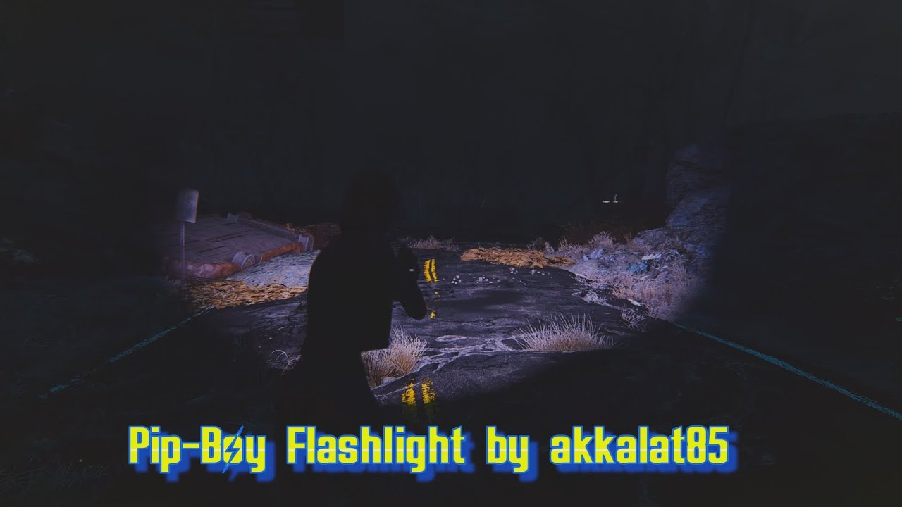 Fallout 4 mods - Pip boy flashlight with Photorealistic Commonwealth