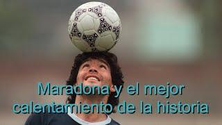 La HISTORIA DETRÁS del baile de Maradona al ritmo de Live is Life con Napoli