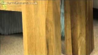 Andorra Solid Oak Side Table From Oak Furniture Land